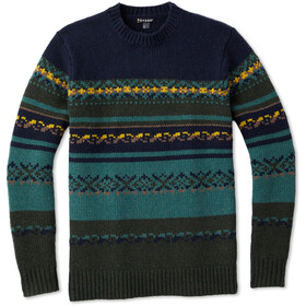 Smartwool CHUP Kaamos Sweater Herrer, scarab heather